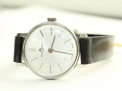 Baume and Mercier Manual Stainless Steel Ladies Wristwatch (New old stock)