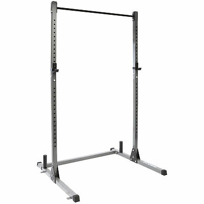 Olympic Squat Rack Power Cage & Pull Up Bar Multi Gym Weight Lifting##