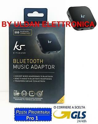 Ricevitore Trasmettitore Jack 3.5Mm Bluetooth V3 Auto Aux Stereo Audio Kitsound