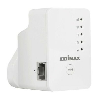 Edimax EW-7438RPn Mini N300 Smart Wireless Range Extender with Network Port (Fre