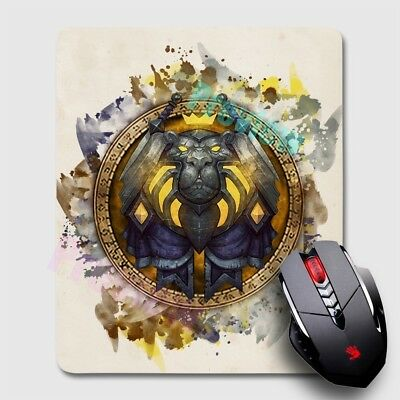 Night Elf World of Warcraft WoW Mousepad Large Gaming Mouse Mat Desk Pad x17