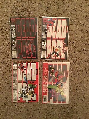 Deadpool the Circle Chase 1-4 Set New