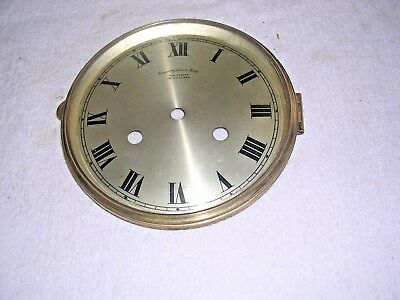 Clock  Parts ,  Brass   Bezel  With Convex  Glass