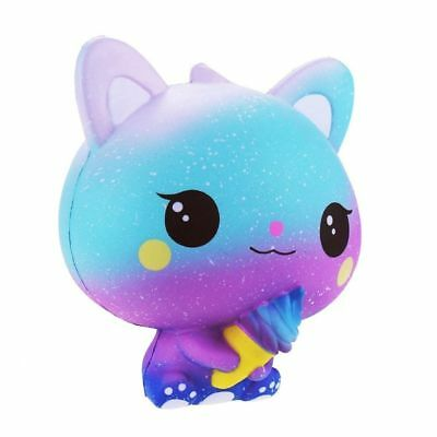 Kawaii Gelato Galaxy Cat Squishy Profumato Lentamente In Aumento Regalo Bambini