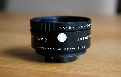 Schneider Kreuznach Componon S 100mm 5.6 Enlarger Lens