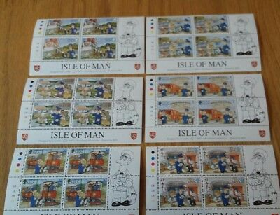 Postman Pat. Isle of Man Post Office. 24 Stamp Collection. 6 Designs. 1994