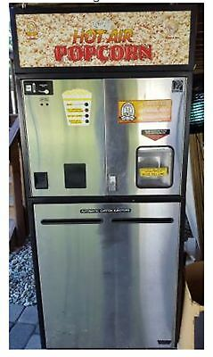 Vending machine Popcorn Hot air coin money carnival snacks food Auto pop corn