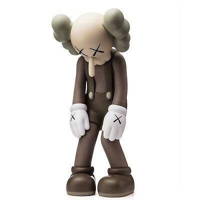 KAWS - Small Lie (Gray) - Vinyl sculpture Open edition Unopened box