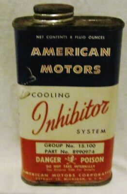 Rambler Cooling System Inhibitor: Full Can From The Sixties