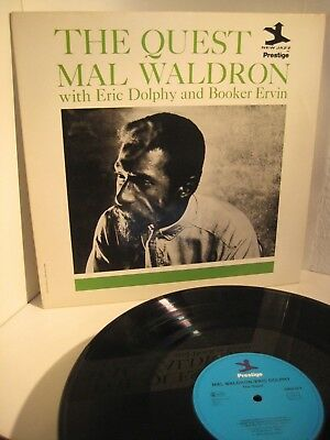 LP MAL WALDRON - THE QUEST (1961)  DOLPHY/ ERVIN PRESTIGE 1983 GER RI nm
