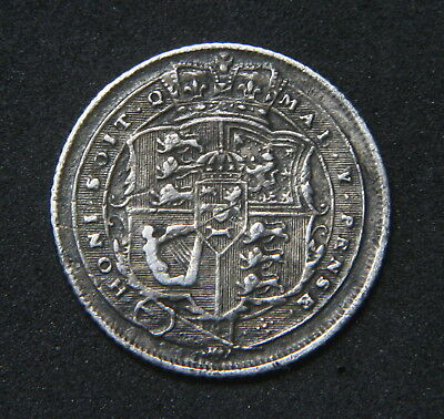 George III 1816 Sixpence Decent Gap Filer