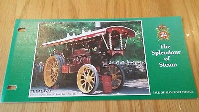 The Splendour of Steam. Isle of Man Post Office. 5 Stamp Collection. 1995 (A)