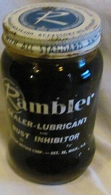 Rambler Water Pump Sealer Lubricant Car Care Chemical: Full Jar From The Sixties