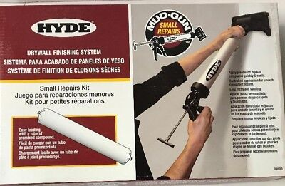 Hyde Mud Gun Small Repairs Kit Drywall Finishing System