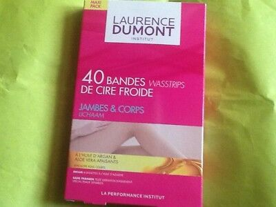 Laurence Dumont  40 Bande De Cire Froide Jambes &corp