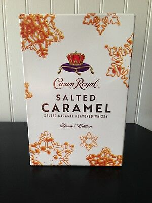 1 Crown Royal Salted Caramel Complete Collectors Sealed Box