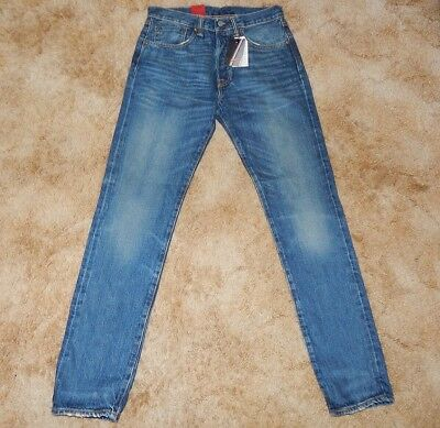 29d62a58713 New $148 31 x 32 LEVIS 501 CT SELVEDGE Original Fit Jeans Button Fly  Tapered Leg