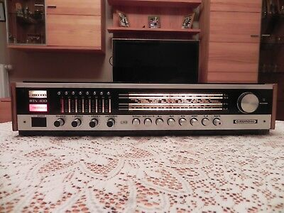 Grundig RTV 400   FM/AM  Stereo Receiver + Manual  Bj. 1969