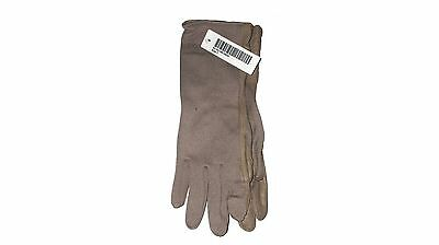US Army Surplus Unisex NOMEX Tan Summer Flyers Driving Gloves FRP SIZE 7 Small S