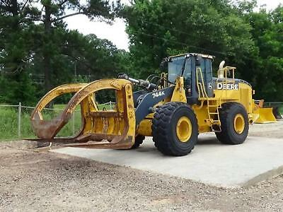 2012 John Deere 744K Wheel Loader