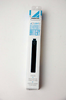 Westcott Ice Light 2  Removable Battery - New in Box Brand New Product MIP