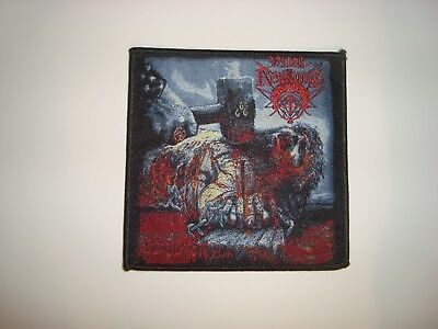 Vital Remains - Woven Patch Morbid Angel Deicide Asphyx Vader Nile Suffocation