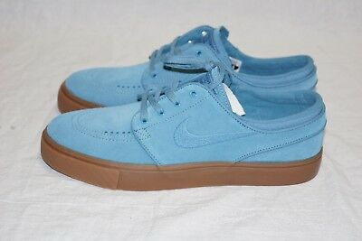 super popular e9142 0d269 Nike Zoom Stefan Janoski Og Sb Noise Aqua Gum Sole Sizes 7.5 To 12 Suede