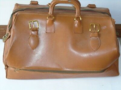 Lot Collection Vintage Leather Doctor's Bag + Surgical Tools 125 + Pieces Pcs