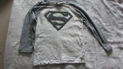 Boys long sleeved Next Superman top age 5-6