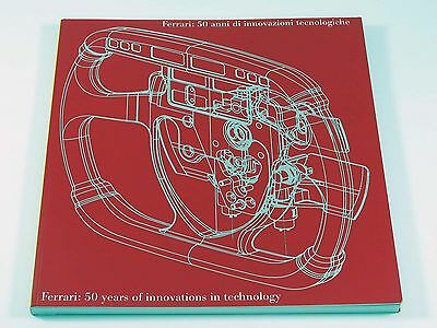 Ferrari Engineering Brochure Book - 50 Years of Innovations in Technology 1997