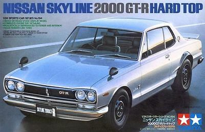 Tamiya 24194 1/24 Scale Nissan Skyline 2000 GT-R Hard Top  from Japan