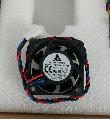 new DELTA BRUSHLESS DC 12V .35A 3pin COOLING FAN AFB0412SHB