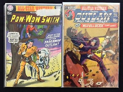ALL-STAR WESTERN Lot of 2 DC Comic Books - #1 6!