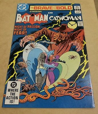 the Brave and the Bold #197 (1983) NM HIGH GRADE BATMAN & CATWOMAN 🔥KEY🔥 APP🔥