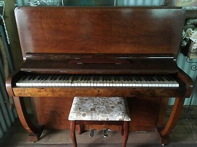 Piano With Matching Stool