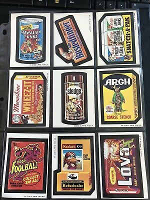 1973 Topps Wacky Packages Original 3rd Series Complete Set + Puzzle HIGH GRADE