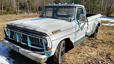 1970 Ford F-350  1970 Ford F350 Dually V8 360 std. runs drives