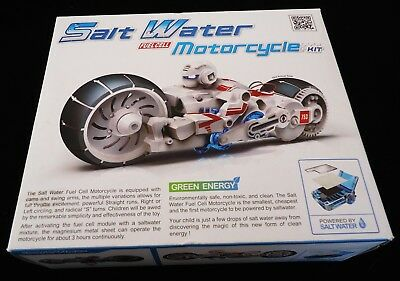 SALT WATER FUEL CELL MOTORCYCLE MODEL BUILDING KIT * BRAND NEW IN BOX w. MANUAL