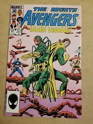The Avengers #251 (1985) NM HIGH GRADE KEY APP 🔥9.4 🔥SEE MY AVENGERS AUCTIONS