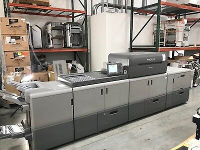 Ricoh Pro C9100 9100 color printer - 110 ppm color - Up to 150lb cover stock