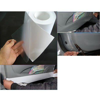 "3M*15CM Clear Car Protective Film Vinyl Door Edge Paint Protection 6""x120"" PVC"