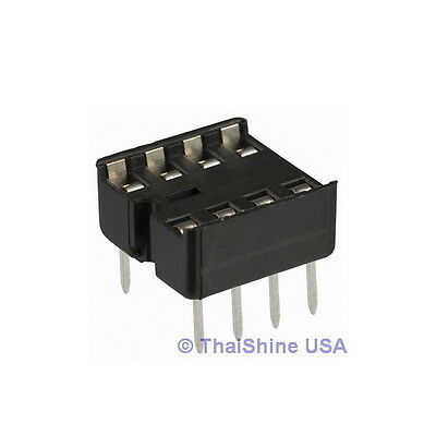 40 x 8 pin DIP IC Sockets Adaptor Solder Type Socket - USA SELLER Free Shipping