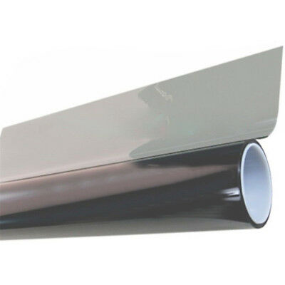50cm*1M Black VLT 70% Glass Window Tint Shade Film  Auto Car House Roll PET New