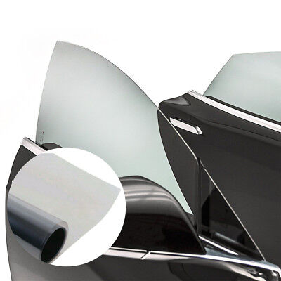 1 Roll 50cm*1M PET Black Glass Window Tint Shade Film VLT 70% Auto Car House New