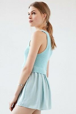 d6bb1fa05 URBAN OUTFITTERS  KIMCHI Blue Babydoll Top Size S NWOT -  5.99 ...