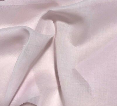 """SPECHLER-VOGEL IMPERIAL BROADCLOTH #502 PINK BLUSH 60/""""W--BY THE YARD"""