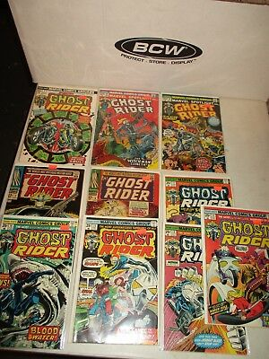GHOST RIDER 7 Death Duel 8 9 13 14 15 16 17 Son of Satan 6 & 7 60's VF/NM COMICS