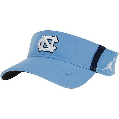 sports shoes 57fc3 85af1 ... store north carolina unc tar heels nike jordan ncaa sideline aero visor  hat cap nwt 126e1