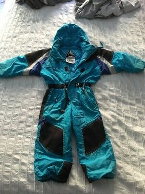 Tops Sz 2 Ski Suit- All In One With Hood