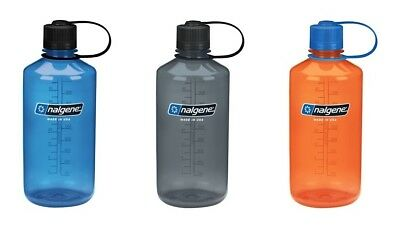 NALGENE NARROW MOUTH WATER BOTTLE BPA FREE BPS FREE 1000ml / 32oz MADE IN USA